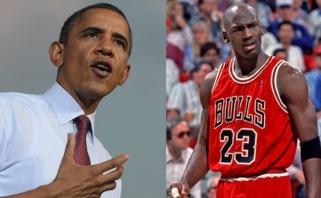 "B.Obama: M.Jordanui reikia daugiau galvoti apie ""Bobcats"" - ar ""Hornets"""