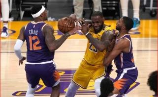 LeBrono apmaudas: NBA čempionai eliminuoti jau pirmame atkrintamųjų etape