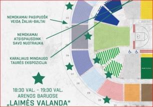 """Mačas su Milano klubu """"Žalgirio"""" arenoje bus išmatuotas laimės decibelais"""