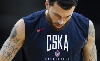Dar vieną netektį išgyvenantis CSKA lyderis išvyko į JAV ir nepadės armiečiams ropštis iš duobės