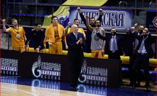 Kurtinaitis džiaugėsi pergale prieš CSKA: žaidėme taip, kaip norėjome