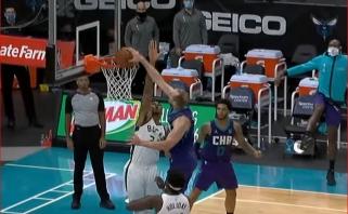 Dėjimas per Giannį, LaMelo perdavimas ir pergalingas Lillardo tritaškis - NBA Top 10 viršūnėje