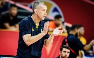 Abi komandas gyręs australų strategas išskyrė savo galiūną: jam patinka žaisti su Lietuva