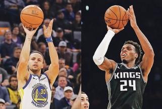 """""""Kings"""" snaiperis pasiekė NBA tritaškių rekordą – aplenkė patį Curry"""