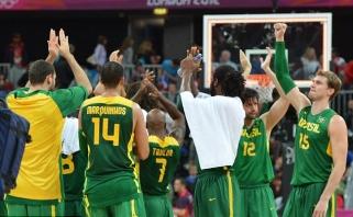 Pietų Amerikos derbį laimėję brazilai žengė į ketvirtfinalį