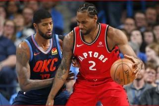 """Netikėta: K.Leonardas pasirinko """"Clippers"""", kur suvienys jėgas su P.George'u"""