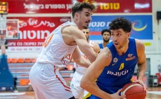 """""""Maccabi"""" nedaug trūko iki antrosios paeiliui nesėkmės Izraelyje"""
