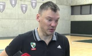 """Š.Jasikevičius: sunku pasakyti, kur """"Olympiakos"""" pažeidžiami (L.Westermanno komentaras)"""