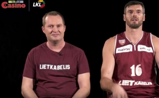 Protų kovos: nuotaikinga K.Lavrinovičiaus ir K.Maksvyčio dvikova