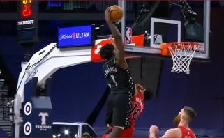 Pirmasis naujokų biržos šaukimas vėl sukūrė įspūdingiausią NBA nakties momentą