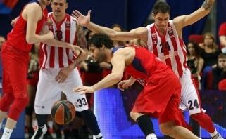 M.Teodosičiaus tritaškis išgelbėjo CSKA nuo skaudaus antausio (video)
