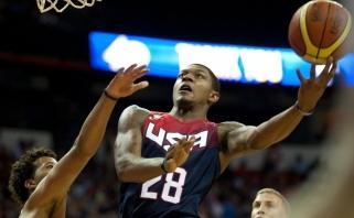 """Dar vienas """"ne"""": JAV rinktinei nepadės ir dešimtas pagal rezultatyvumą NBA žaidėjas"""