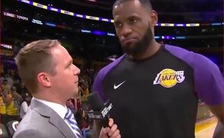 """L.Jamesas sužaidė rezultatyviausią mačą """"Lakers"""" gretose, iškovota dramatiška pergalė"""