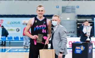 NKL sezono MVP – fantastiškai žaidęs Pukelis