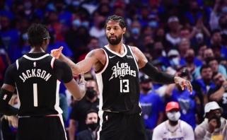 """""""Clippers"""" perrašė NBA  istoriją, """"76ers"""" išsigelbėjo"""