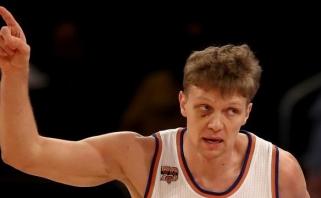 """M.Kuzminską ir """"Knicks"""" Niujorke sustabdė svečiai iš Vašingtono"""