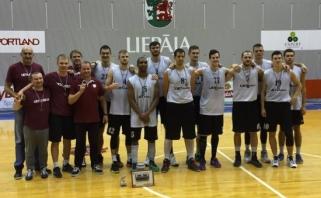 """""""Lietkabelis"""" turnyre Liepojoje iškovojo trečią vietą"""