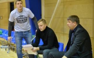 """Vedamas šeimyninių aplinkybių treneris L.Eglinskas paliko """"Šilutės"""" komandą"""