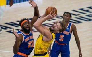 """""""Pacers"""" treneris Saboniui suteiks laisvę puolime: Domas bus sunkiai uždengiamas žaidėjas"""