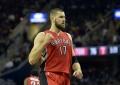 """Raptors"" ir J.Valančiūno sezonas NBA baigėsi gėdingu pralaimėjimu"