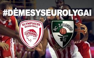 """""""Žalgiris"""" sieks antrąkart sezone įveikti """"Olympiacos"""" (Pociaus, Seibučio komentarai)"""