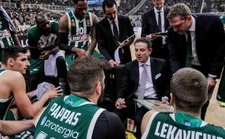 """Naujasis """"Panathinaikos"""" treneris R.Pitino spėjo duoti pravardę L.Lekavičiui"""