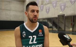 V.Micičius: kiekvienose rungtynėse kausimės kaip paskutinėse (video interviu)