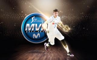 Slovėnijos supertalentas L.Dončičius - Ispanijos čempionato MVP