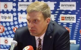"""""""Ryto"""" problemą įvardinęs D.Adomaitis: nemanau, kad kitas treneris tai pakeistų"""