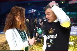 """""""Žalgiris"""" finale nokautavo """"Lietuvos rytą"""" (Š.Jasikevičiaus interviu)"""