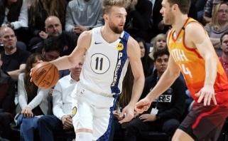 """Nuovargio pasekmės: D.Sabonis ir """"Pacers"""" patyrė didžiausią sezono pralaimėjimą"""