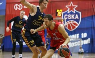 R.Kurtinaičio kariauna dar kartą nusileido CSKA, šį kartą - beviltiškai