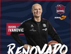 Baskai oficialiai paskelbė apie naują kontraktą su D.Ivanovičiumi
