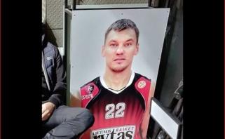 """""""Ryto"""" namų tvirtovėje nebeliko Š.Jasikevičiaus atvaizdo"""