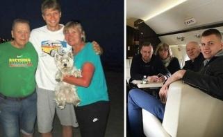 """""""Knicks"""" bokštų istorija: M.Kuzminskas ir K.Porzingis talentą paveldėjo iš mamų"""