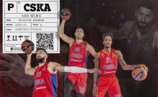 CSKA tapo pirmąja Eurolygoje 400 pergalių iškovojusia komanda