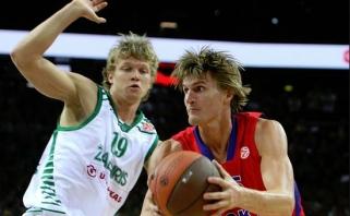 NBA treneris M.Kuzminską palygino su rusų žvaigžde A.Kirilenka