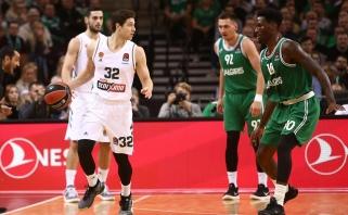 """""""Panathinaikos"""" snaiperiui Europoje pakako vieno sezono - grįžta į Kiniją"""
