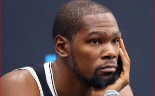 K.Durantas nenorėtų žaisti Orlande ir būdamas sveikas