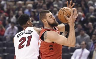 """Toronte - Ibakos ir Johnsono muštynės bei """"Raptors"""" pralaimėjimas"""