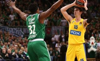"""Rezultatu, bet ne žaidimu nusivylę """"Maccabi"""" atstovai gręžėsi į traumuotas žvaigždes"""