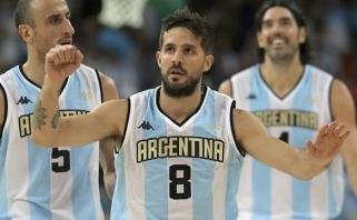 Kroatų šturmą atlaikiusi Argentina pasivijo lietuvius turnyro lentelėje