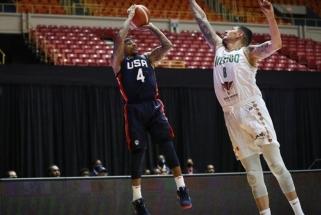 Buvusių NBA žvaigždžių vedama JAV rinktinė atrankos ciklą baigė užtikrintai