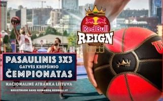 """Lietuva pirmąkart dalyvaus tarptautiniame gatvės krepšinio čempionate """"Red Bull Reign"""""""