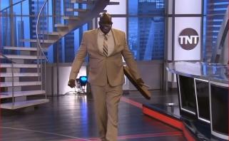 """Sh.O'Nealas sulaužė šluotą ir patarė Ch.Barkley gerbti """"Lakers"""""""