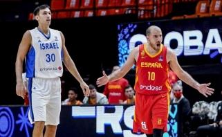 18 taškų pranašumą iššvaistę ispanai pralaimėjo Izraeliui