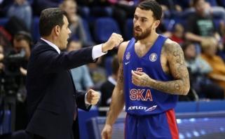 CSKA žvaigždė M.Jamesas gali palikti komandą dėl konflikto su treneriu