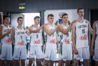 Jaunučiai Europos čempionatą pradėjo sumindydami estus
