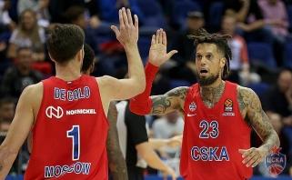 CSKA susigrąžino A.Gomelskio taurę, turkams nepadėjo ir solidus V.Micičiaus žaidimas