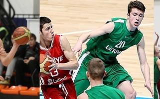 Prestižinėje stovykloje - trys jaunieji Lietuvos krepšininkai